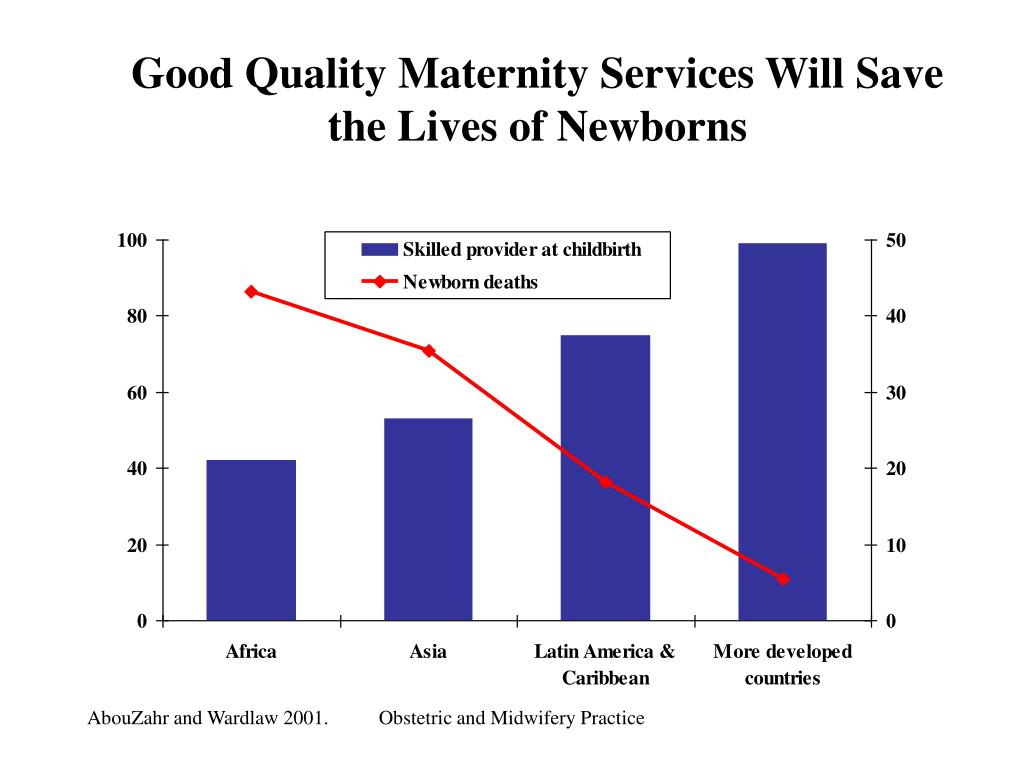 Good Quality Maternity Services Will Save the Lives of Newborns