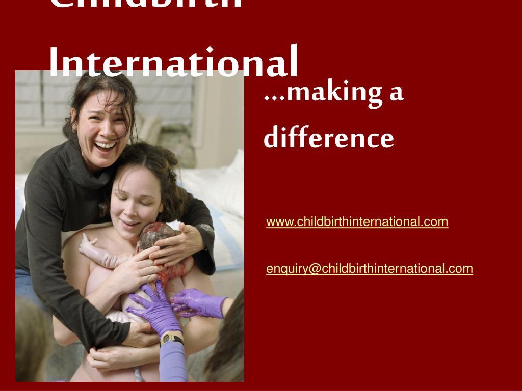 Childbirth International