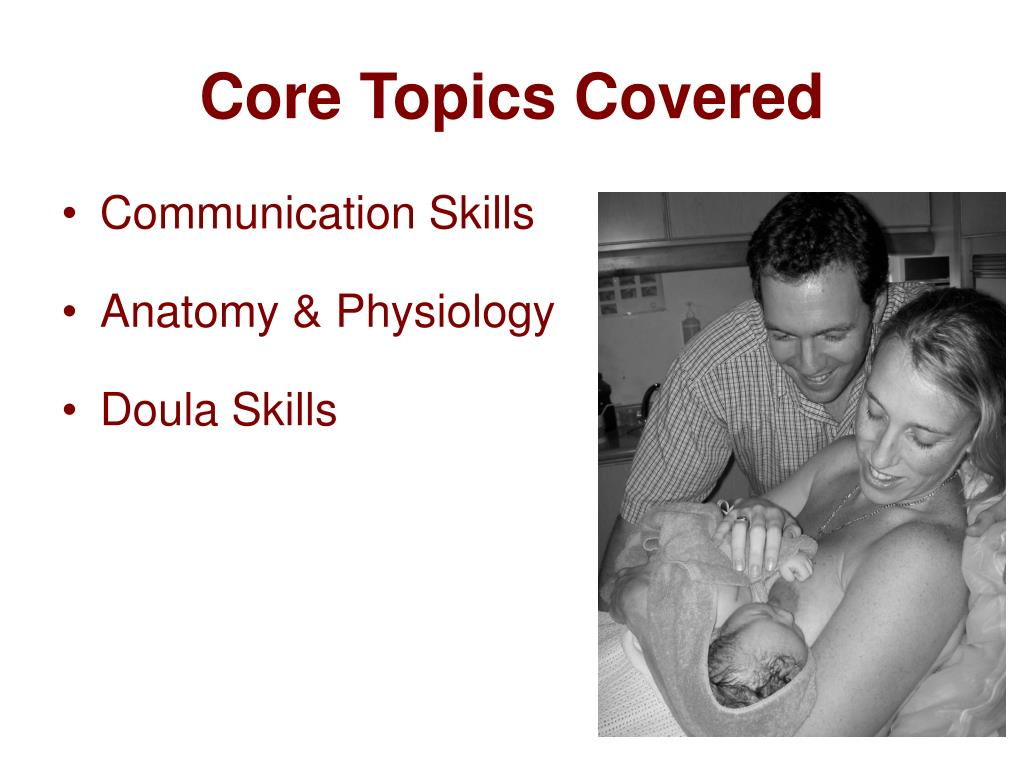 Core Topics Covered