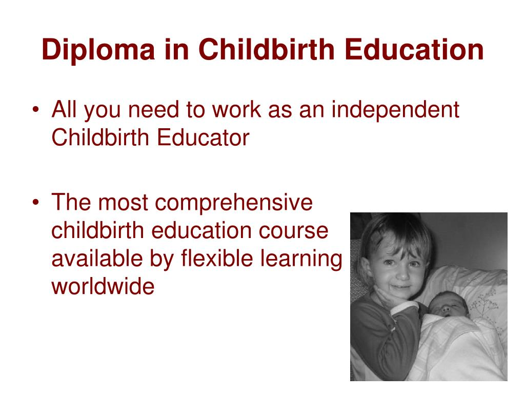 Diploma in Childbirth Education