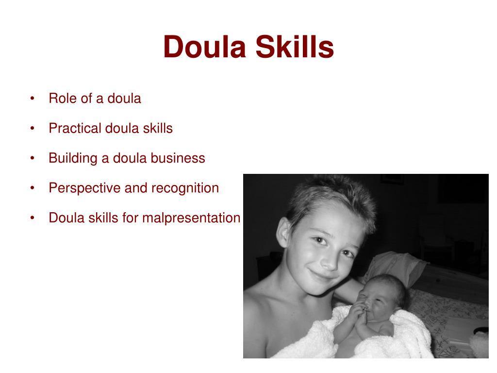 Doula Skills