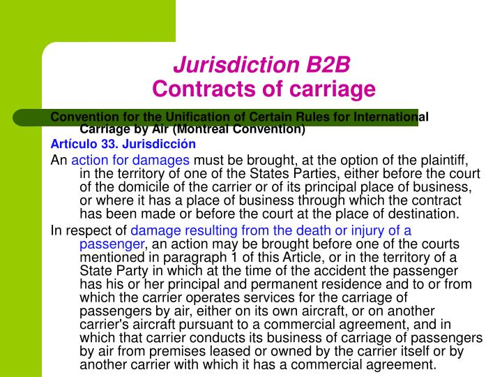 Jurisdiction B2B