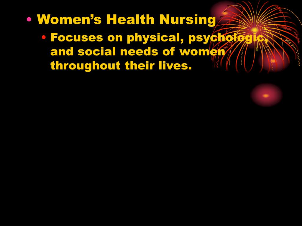 Women's Health Nursing