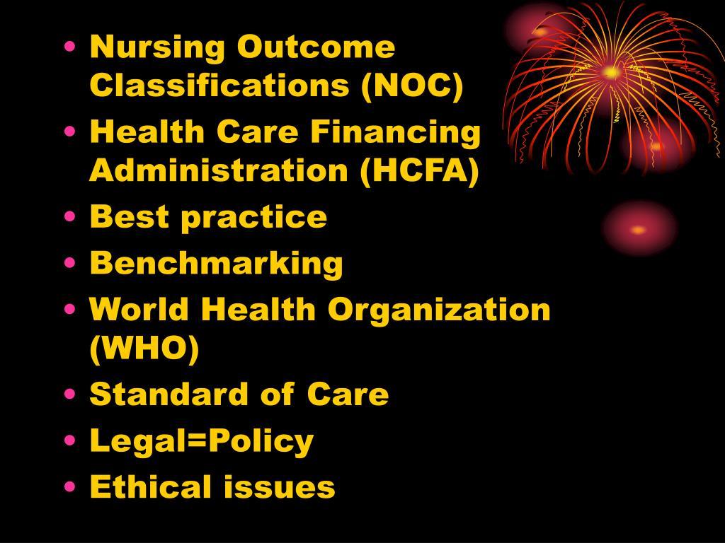 Nursing Outcome Classifications (NOC)