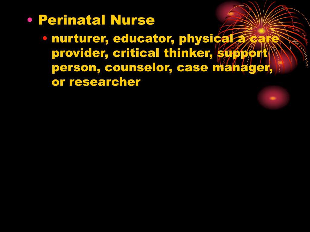 Perinatal Nurse