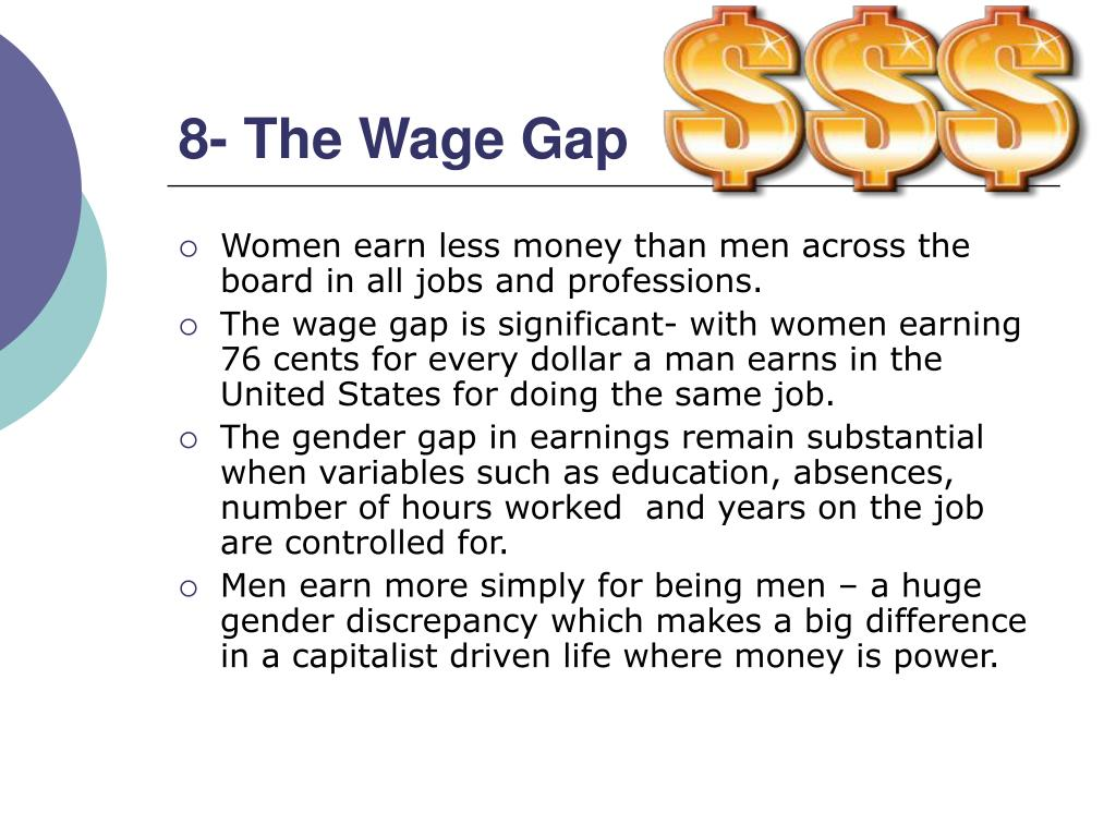 8- The Wage Gap