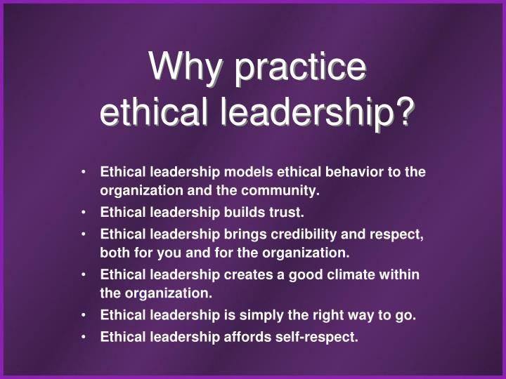Why practice
