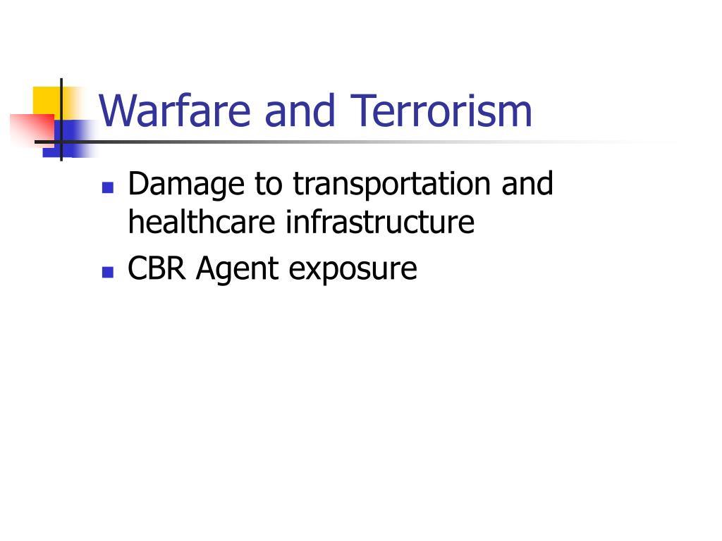 Warfare and Terrorism