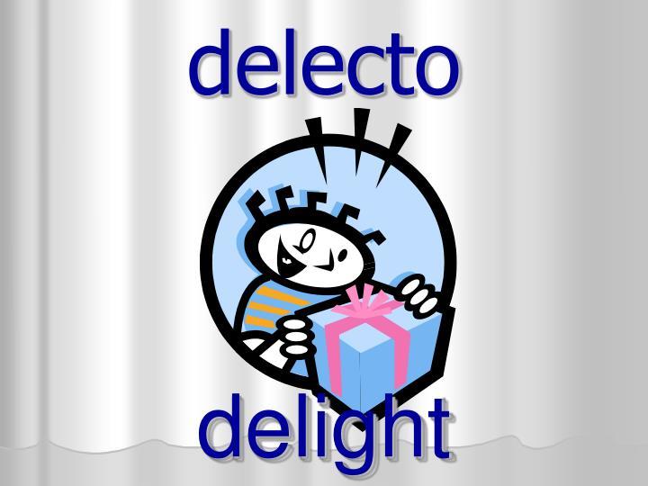 delecto