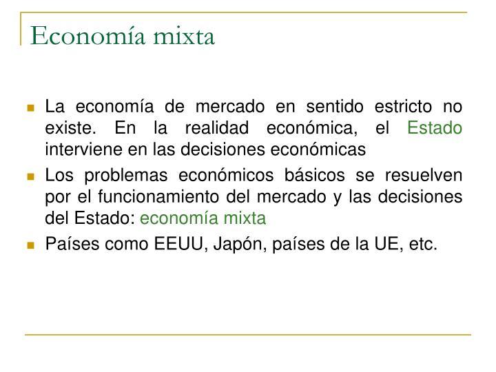 Economía mixta