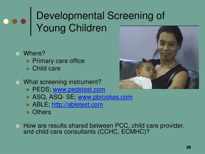 Developmental Screening of