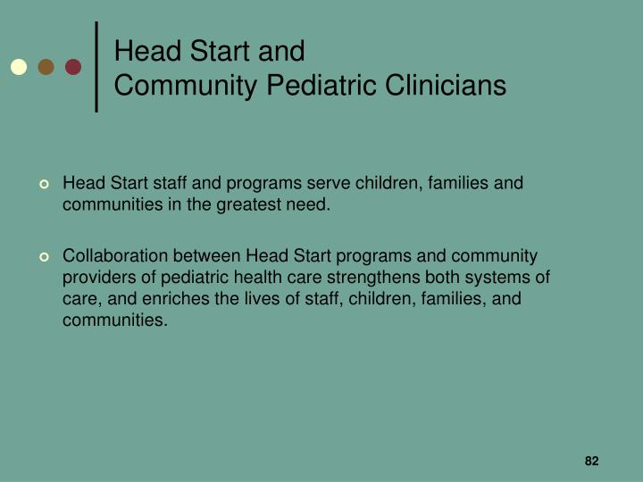 Head Start and