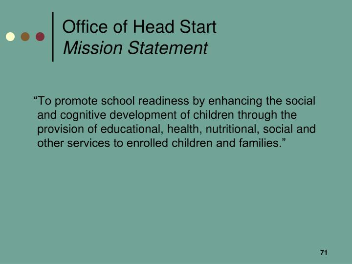Office of Head Start