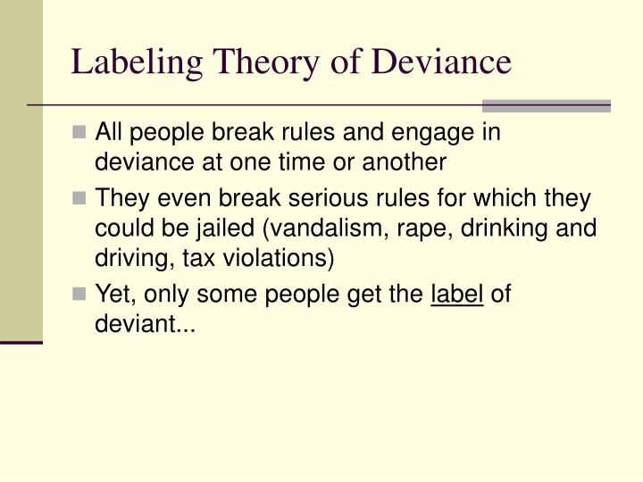 theories that explain deviance Anomie theory and differential association theory best explain the rising criminality in kenya like for example in kenya many individuals are law abiding contrast the two main sociological theories of crime and deviance deviance and crime are wide-ranging terms used by sociologists to refer to.