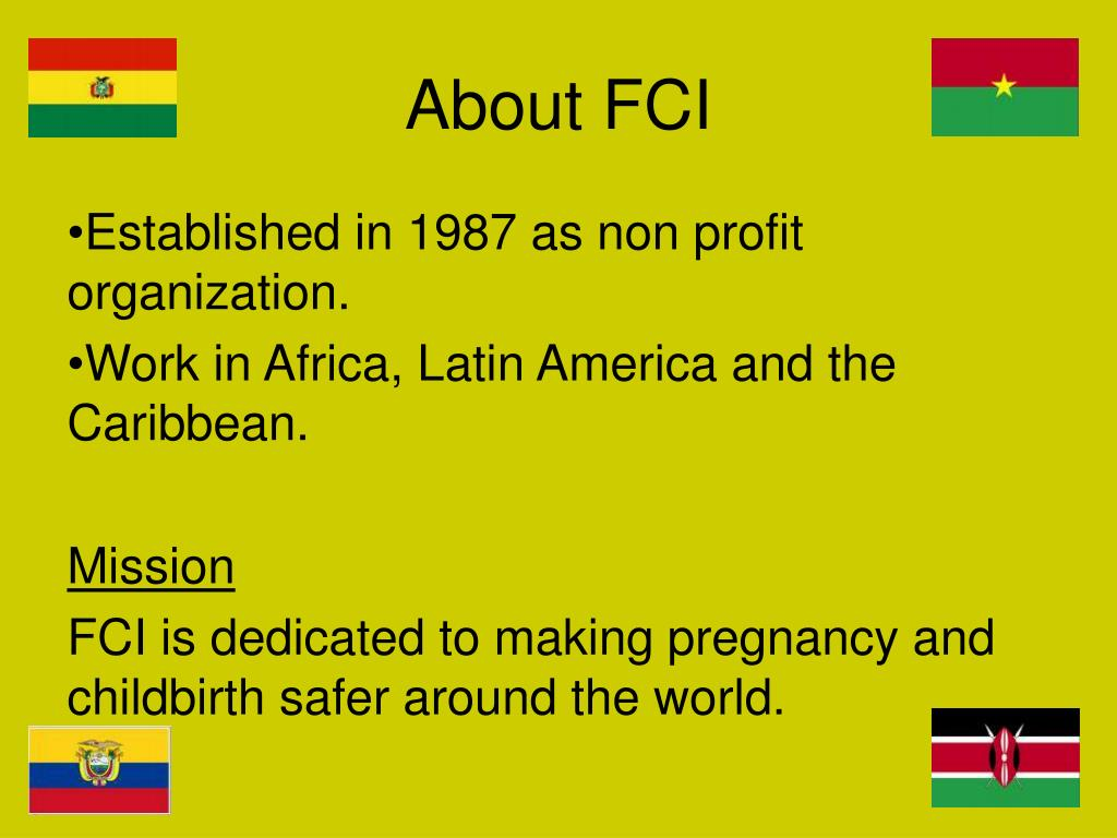About FCI