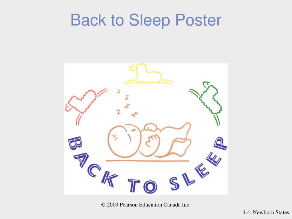 Back to Sleep Poster