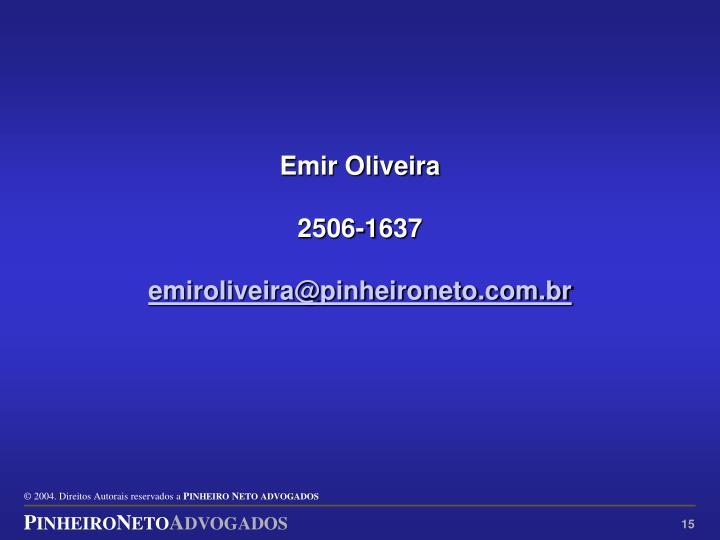 Emir Oliveira