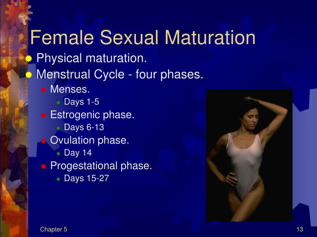 Female Sexual Maturation