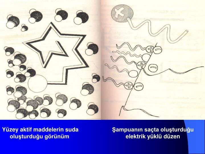 Yüzey aktif maddelerin suda oluşturduğu görünüm