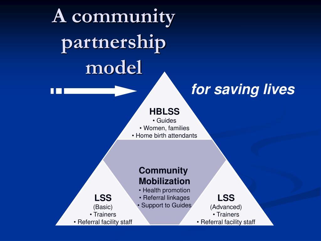 A community partnership model