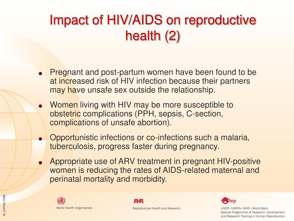 Impact of HIV/AIDS on reproductive health (2)