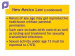 new mexico law condensed