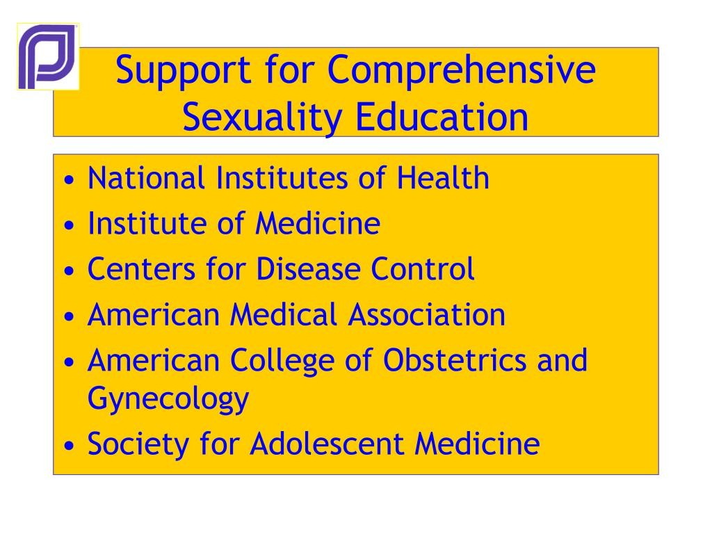 Support for Comprehensive Sexuality Education