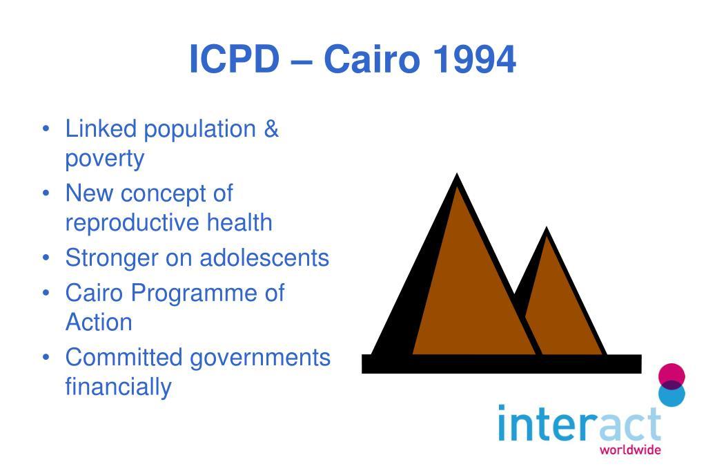 ICPD – Cairo 1994