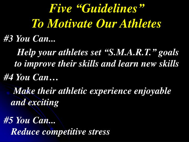"Five ""Guidelines"""