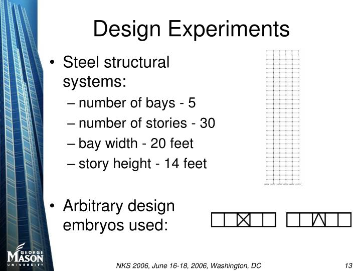 Design Experiments