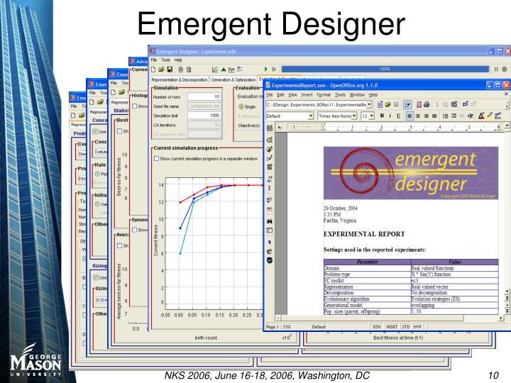 Emergent Designer