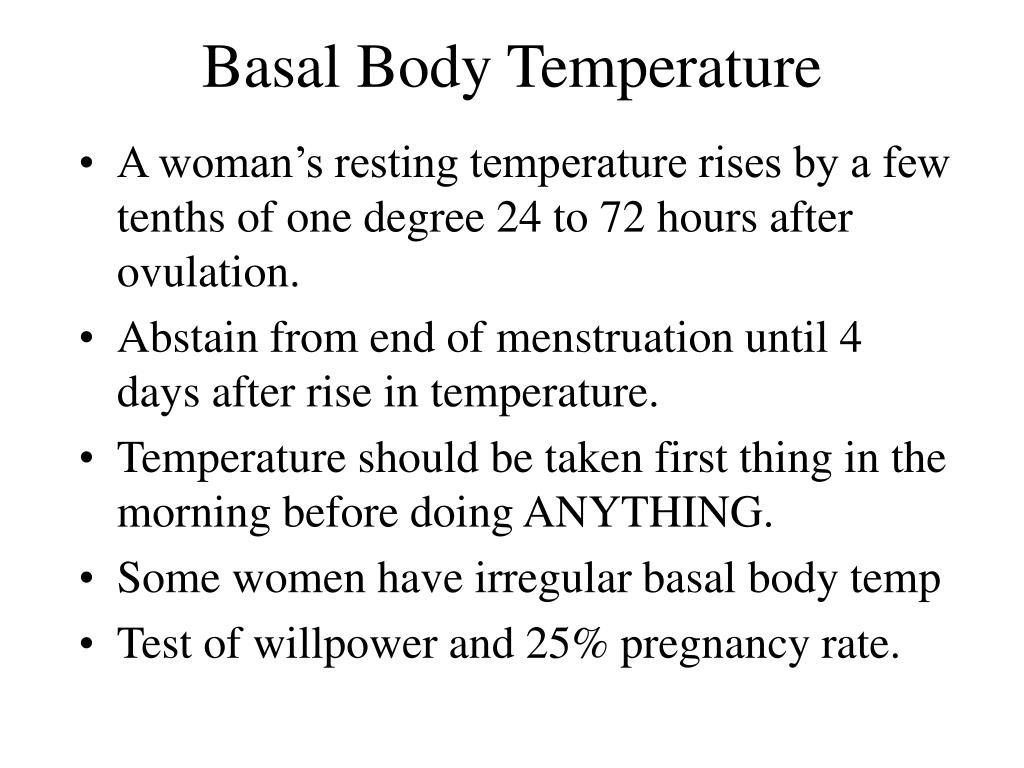 Basal Body Temperature