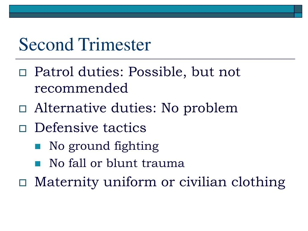 Second Trimester