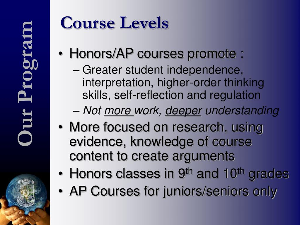Course Levels