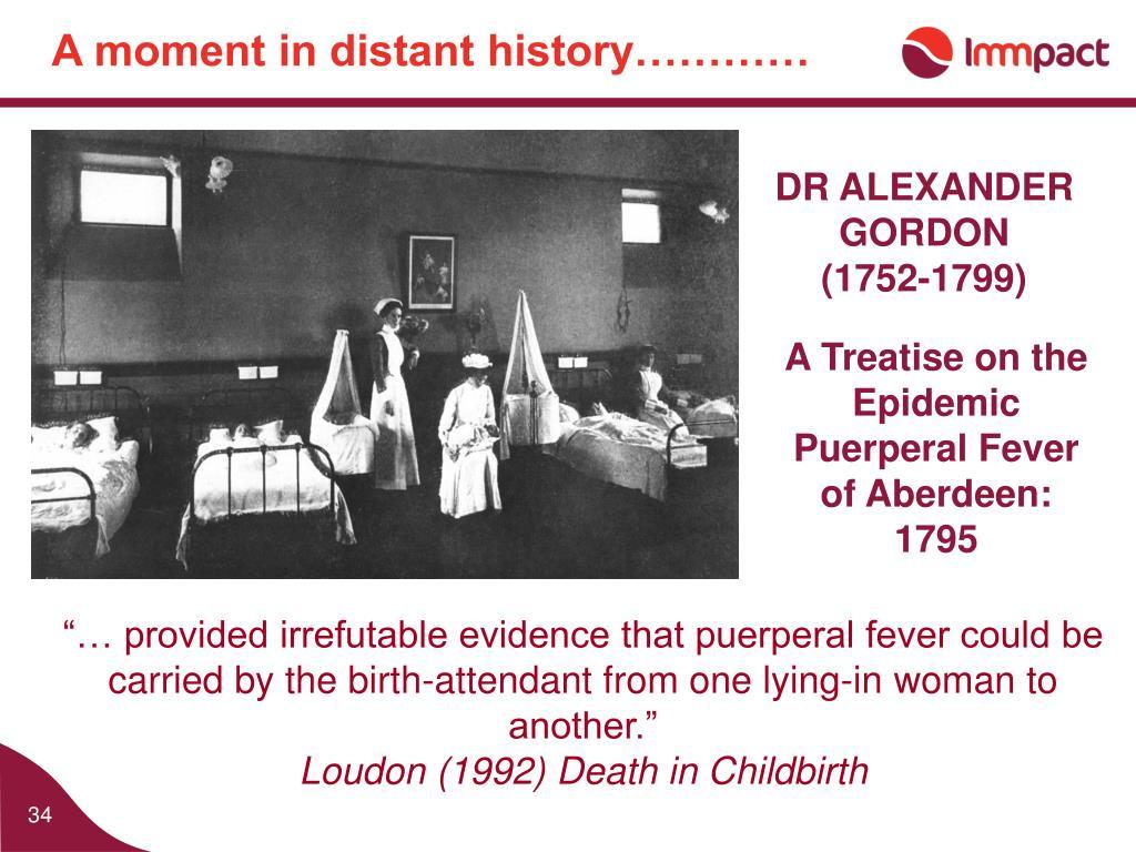 DR ALEXANDER GORDON