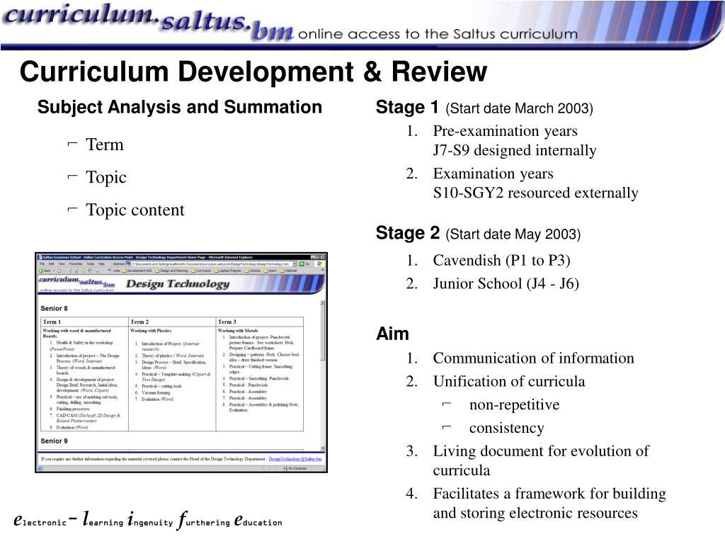 Subject Analysis and Summation