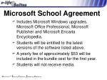 microsoft school agreement