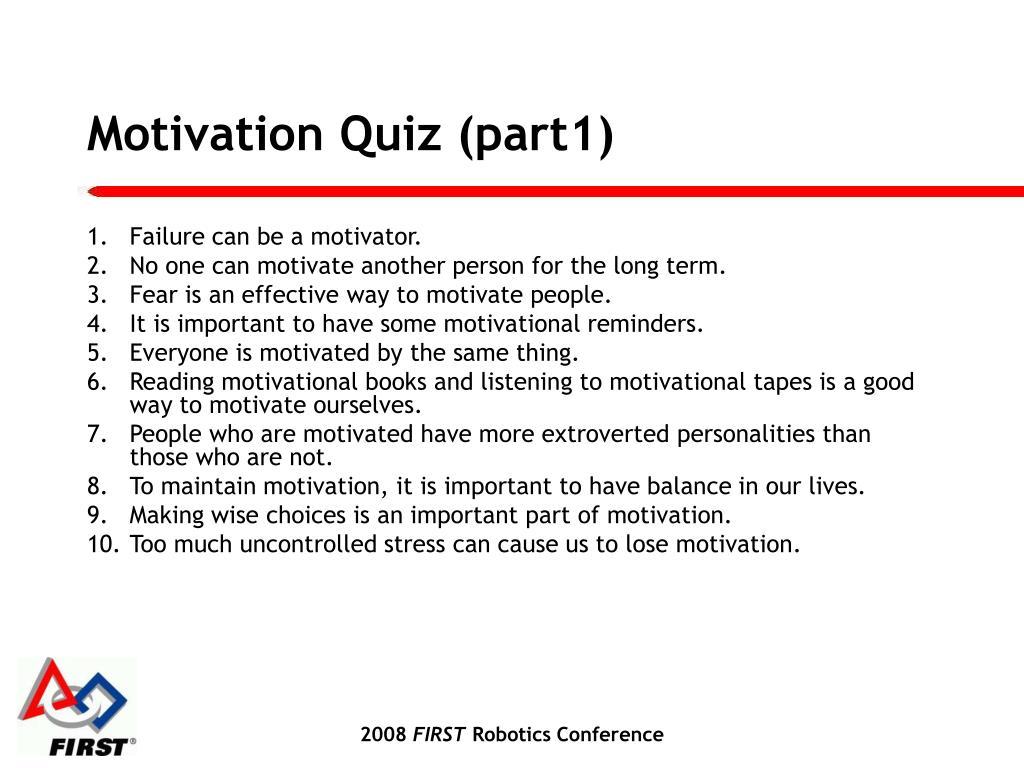 Motivation Quiz (part1)