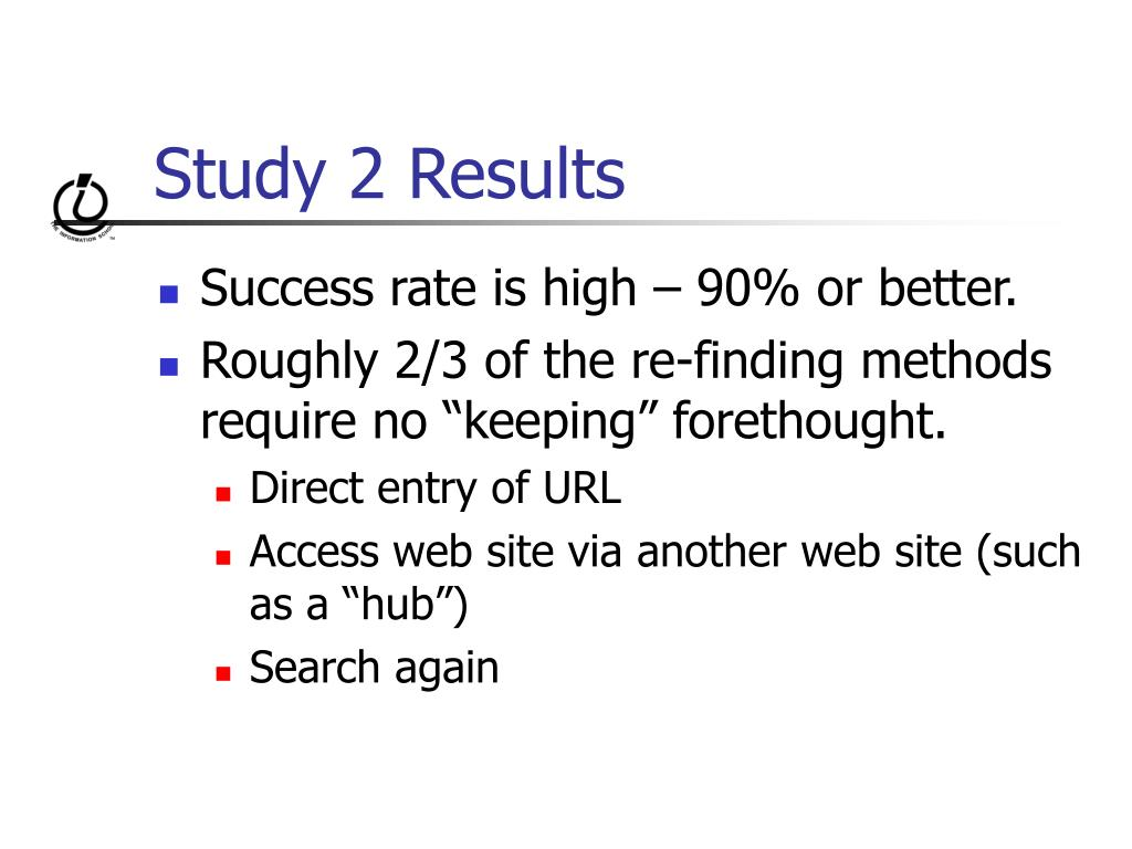 Study 2 Results