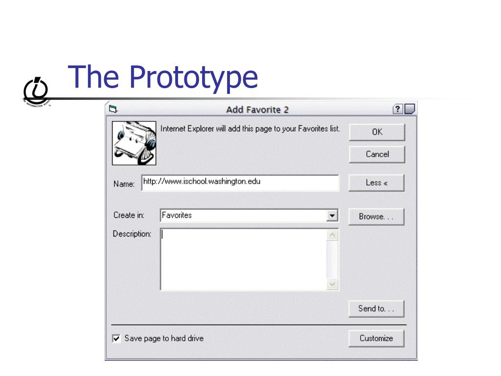 The Prototype