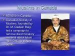 muslims in canada
