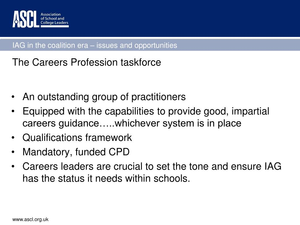 The Careers Profession taskforce