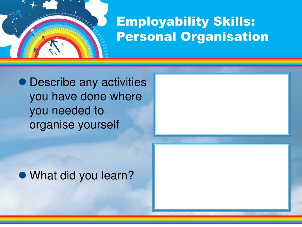 Employability Skills:
