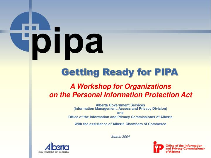 Getting ready for pipa
