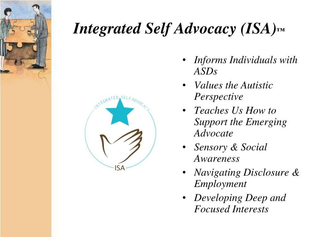 Integrated Self Advocacy (ISA)