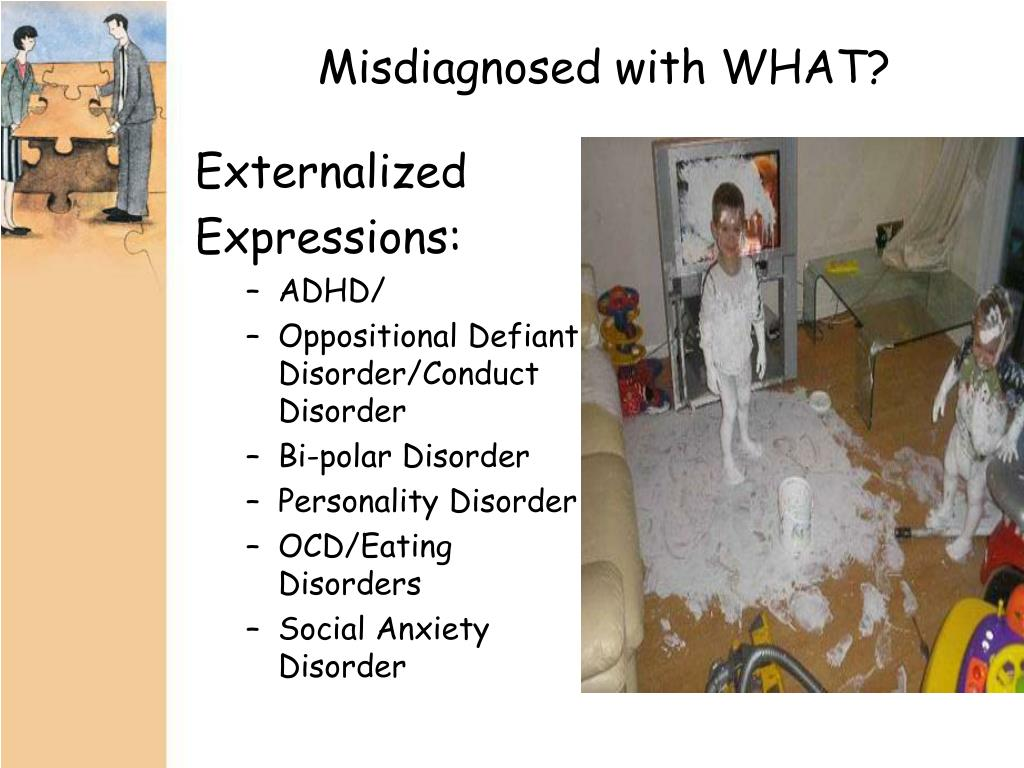 Misdiagnosed with WHAT?