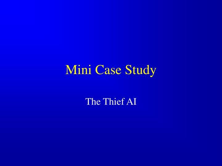 Mini Case Study
