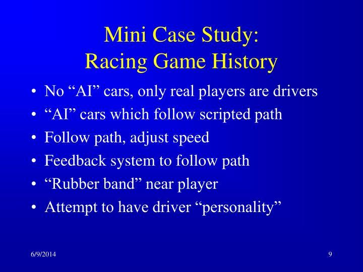 Mini Case Study:
