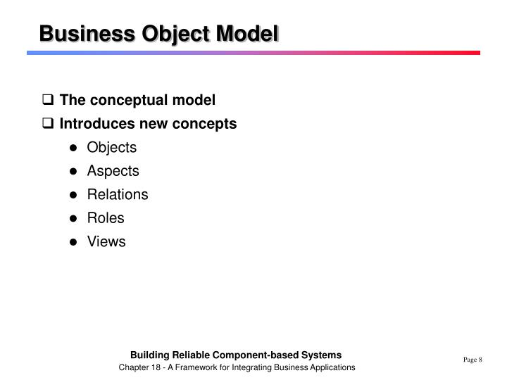 Business Object Model