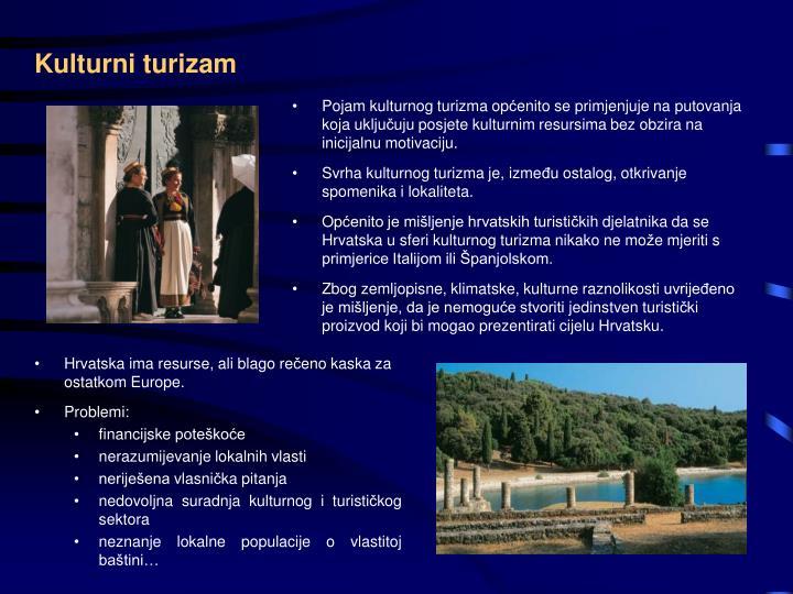 Kulturni turizam
